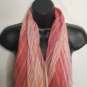 Nordstrom sriped colorful scarf